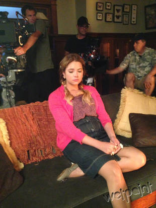 Pretty Little Liars Spoilers: Hefty Hanna Returns in Season 4, Episode 15 Flashback — Exclusive Photos!