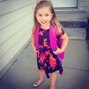Chelsea Houska's Daughter Aubree Attends First Day of Preschool! (PHOTO)