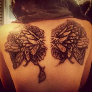 16 and Pregnant's Nikkole Paulun Shows Off New Back Tattoo (PHOTO)