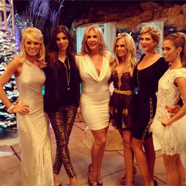 Did The Real Housewives of OC Make Up After Their Huge Finale Fight? (PHOTO)