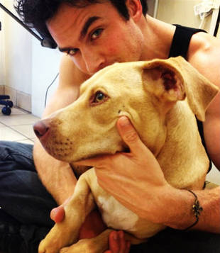 "Ian Somerhalder's New Girl Nietzsche — She's ""Beautiful and Charming"" (PHOTO)"