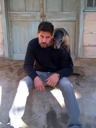 True Blood's Joe Manganiello Gets Cute and Candid in Australia (PHOTOS)