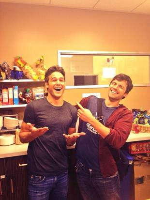 Pretty Little Liars' Ian Harding and Ryan Guzman Have Real-Life Bromance! (PHOTO)