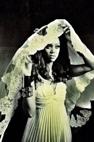 Tyra Banks in a Wedding Gown — Is the America's Next Top Model Host Getting Married? (PHOTO)