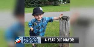 "4-Year-Old Minnesota Mayor Declares ""I'm the Boss"" on National Television (VIDEO)"