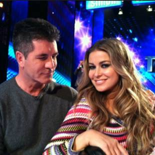 Carmen Electra Walked in on Simon Cowell Tryst With Lauren Silverman! Report