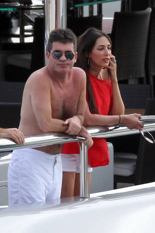 Photos of Simon Cowell Kissing Lauren Silverman Back in 2012!