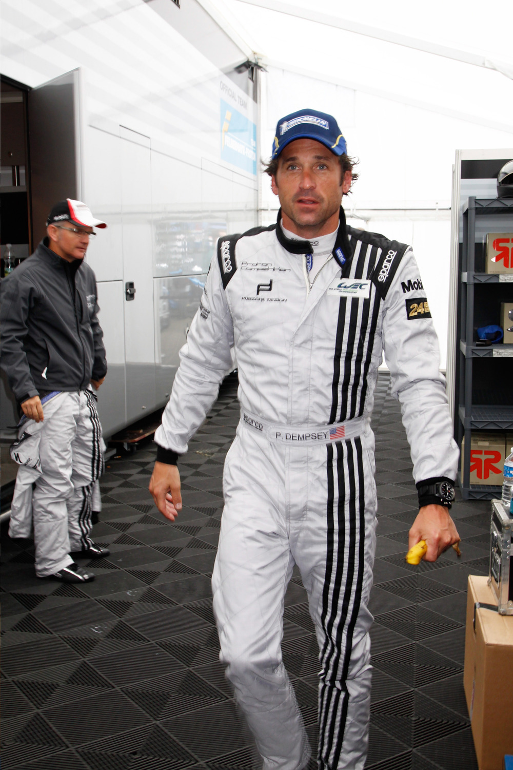 Patrick Dempsey Shows Off Racing Skills on Good Morning America (VIDEO)