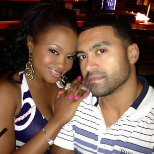 Phaedra Parks and Apollo Nida Have a Date Night (PHOTO)