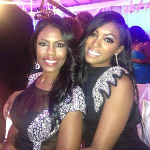 NeNe Leakes' Wedding: Porsha Stewart and Omarosa Look Like Sisters!