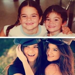 Kim Kardashian Wishes Sister Kylie Jenner a Happy 16th Birthday!