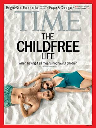 Time Cover Story Shows More People are Choosing to Go Childfree and Loving It