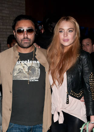 Lindsay Lohan Spotted With Hotel Magnate Previously Busted for Drugs