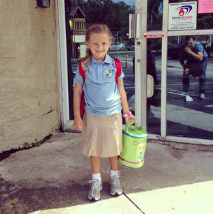 Juan Pablo Galavis' Daughter Camila Back to School — Cute Pic of the Day!