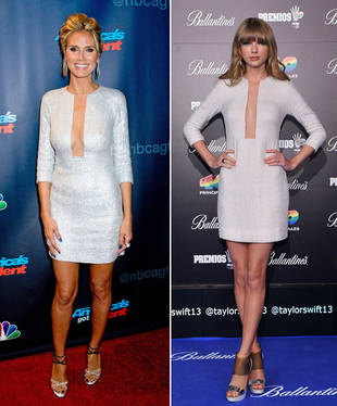 Heidi Klum vs. Taylor Swift in KaufmanFranco — Who Wore It Best?