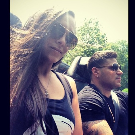 Sammi Sweetheart and Ronnie Magro Head to the City For Secret Surprise