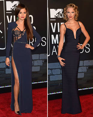 Selena Gomez vs. Taylor Swift at the 2013 VMAs — Who Wore It Best?