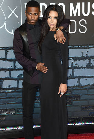 Big Sean at 2013 VMAs: Is He Trying to Imply That Naya Rivera Is Pregnant?