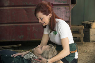 "True Blood's Carrie Preston on Todd Lowe's Departure: ""I Was Freaking Out!"""