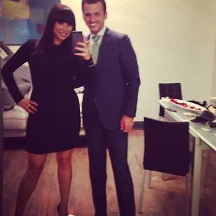 Dancing With the Stars Pros Cheryl Burke and Tony Dovolani Reunite! (PHOTO)
