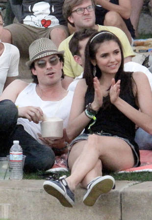 Ian Somerhalder and Nina Dobrev's Relationship: 2010-2011