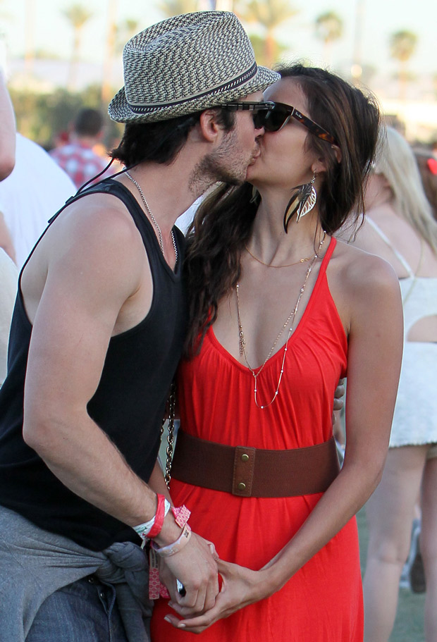 Ian Somerhalder and Nina Dobrev's Relationship: 2012