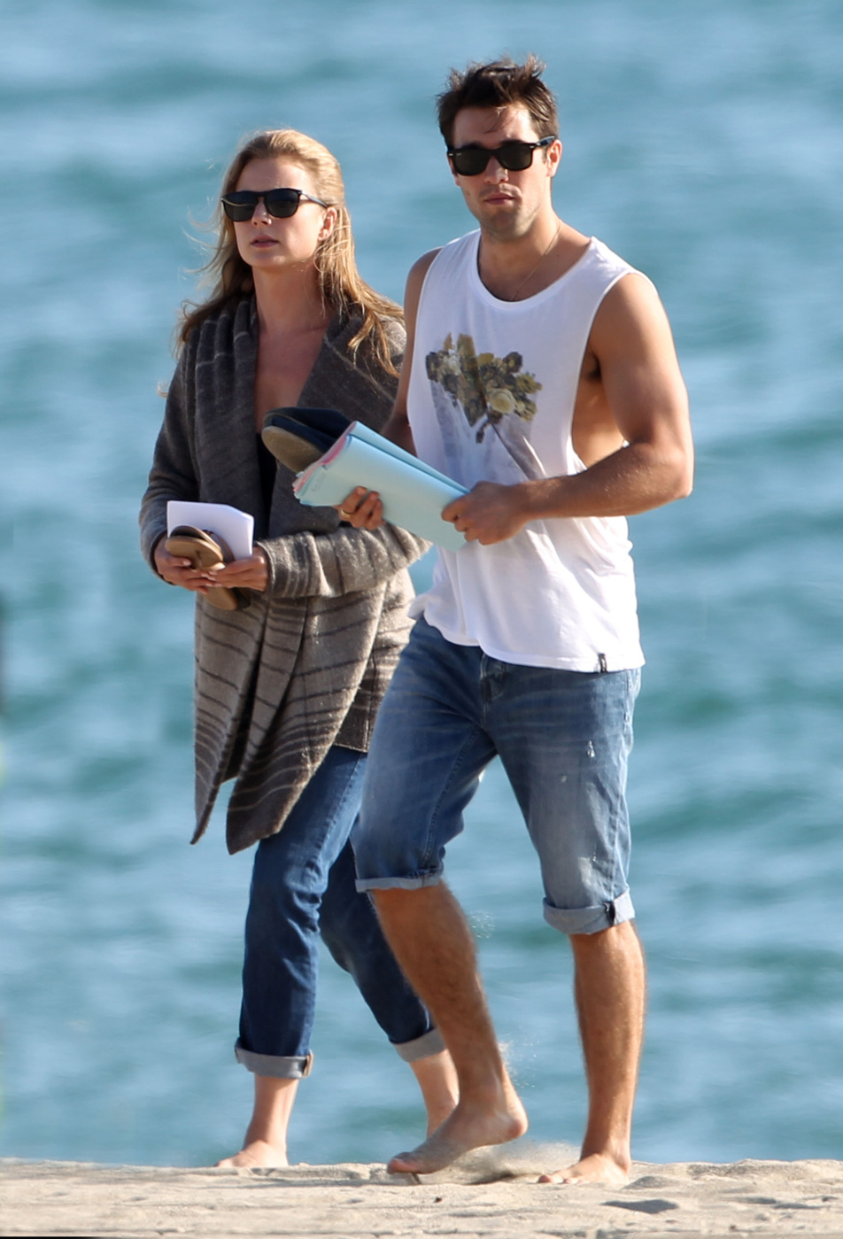 Revenge Stars Emily VanCamp and Josh Bowman Film Intimate ...