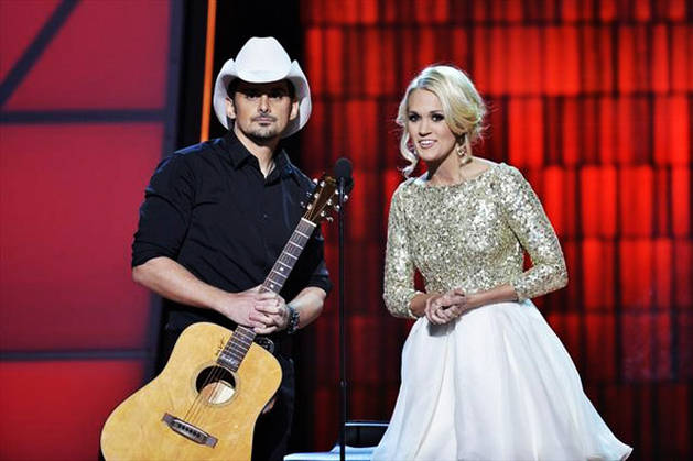 Carrie Underwood and Brad Paisley to Host 47th Annual CMAs