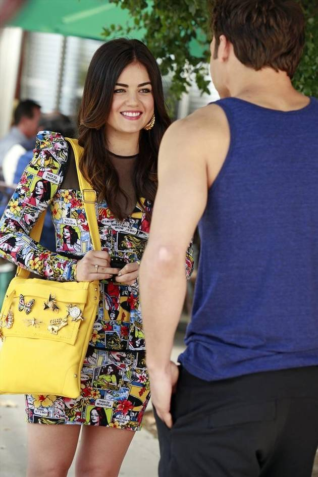 "Pretty Little Liars Season 4 Spoilers: Despite Jake, ""Aria and Ezra Are Inevitable"""