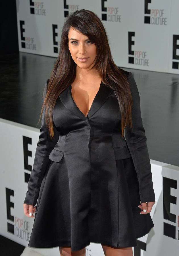 Pregnant Kim Kardashian's Breasts Mocked by Mom Kris Jenner