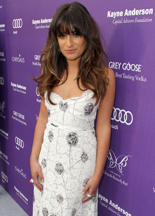 Glee Season 5: Lea Michele Posts First Pic From Set!