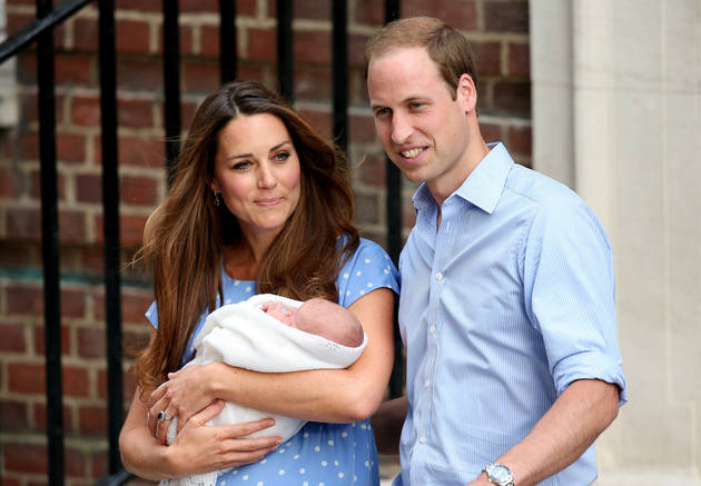 Kate Middleton, Prince William May Release Family Snapshots of Royal Baby Before Royal Portrait