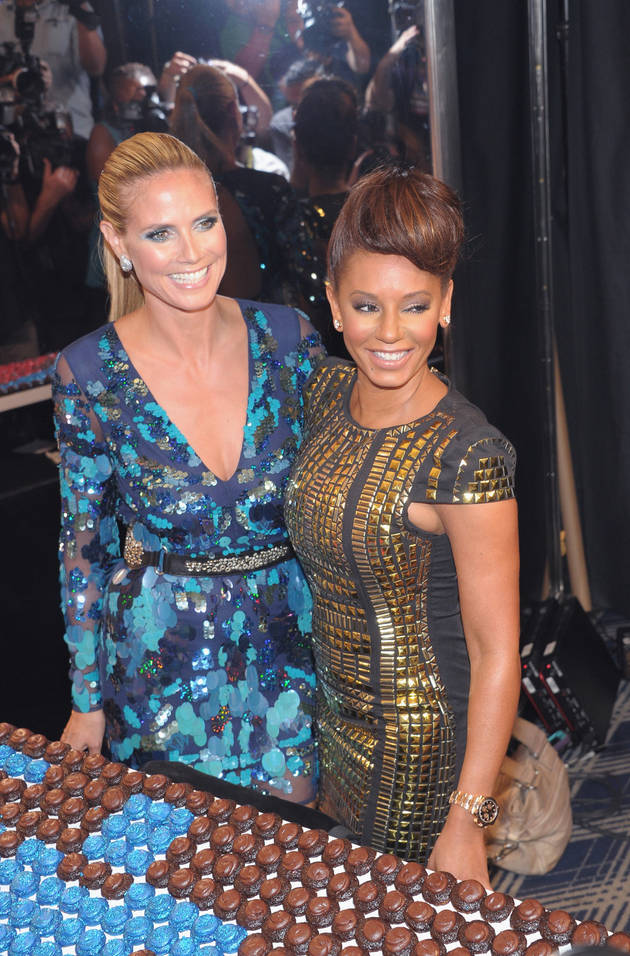 Heidi Klum and Mel B Go Makeup-Free on Instagram (PHOTO)