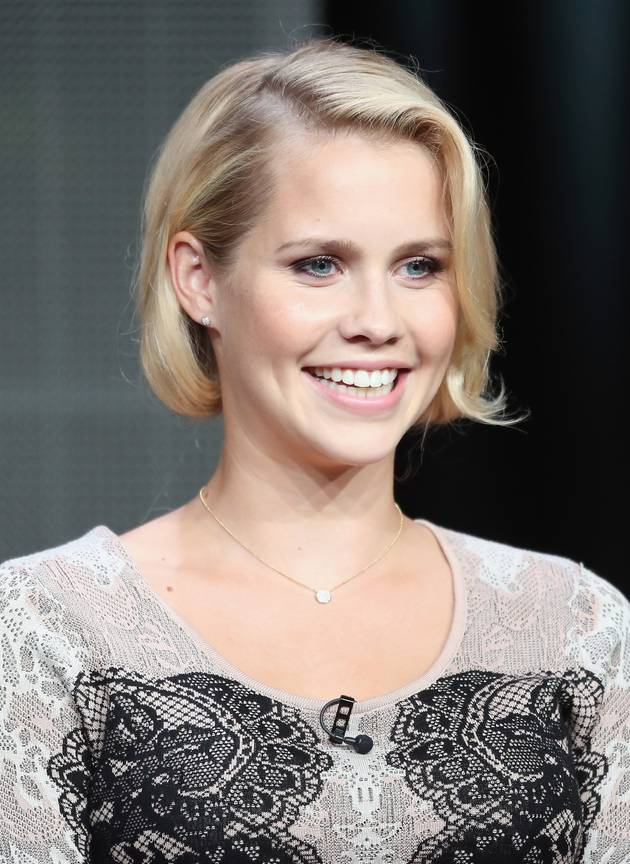 The Originals' Claire Holt Shows Off Shorter Hair at TCAs