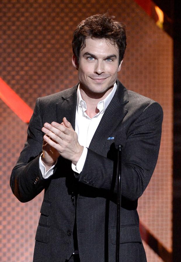 "Ian Somerhalder Calls Elena and Damon's Relationship ""Strange"" — What's the Deal?"