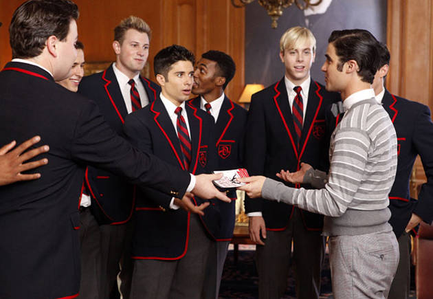 Glee Season 5 Premiere Spoiler: Blaine and the Warblers Reunited?