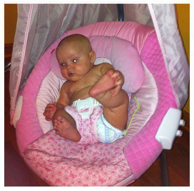 Leah Messer and Jeremy Calvert's Daughter Adalynn Is a Happy Baby! (VIDEO)
