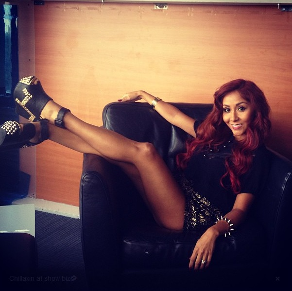 Throwback Thursday: Snooki Gets Cozy With WHICH Rock Legend?