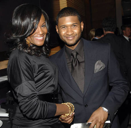 Usher's Ex Wife Tameka Foster Cuddles Son Usher Raymond V After Pool Accident (PHOTO)
