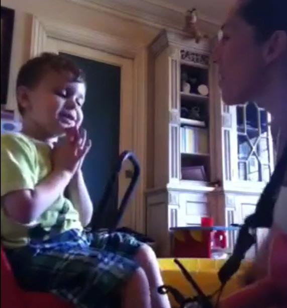 Jacqueline Laurita's Son Nicholas Works on Communication Through Music (VIDEO)