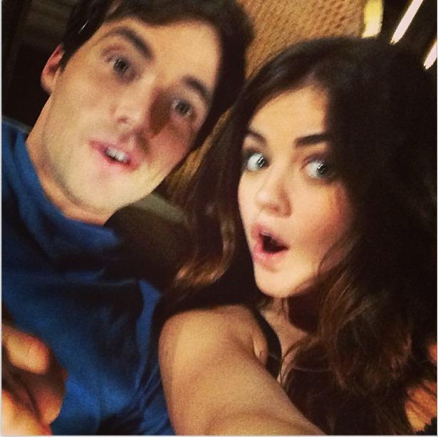 "Ezra is ""A"": Lucy Hale and Ian Harding React!"