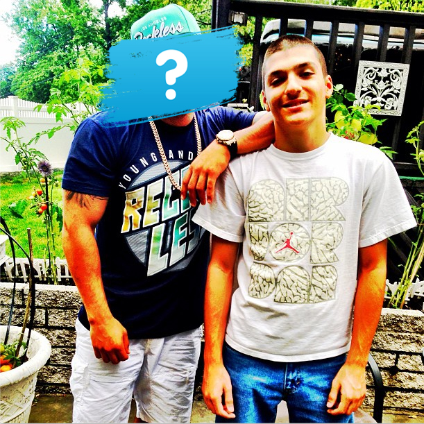 Jersey Shore's Ronnie Magro Is All Smiles With Younger Bro Rob Krager (PHOTO)