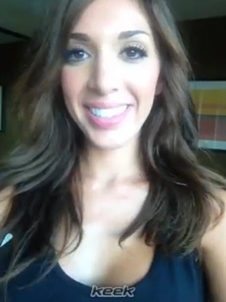 Farrah Abraham Teases Photoshoot For Girls and Corpses Magazine
