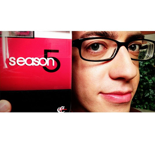 Glee Season 5: The Cast Is Back to Work (PHOTOS)