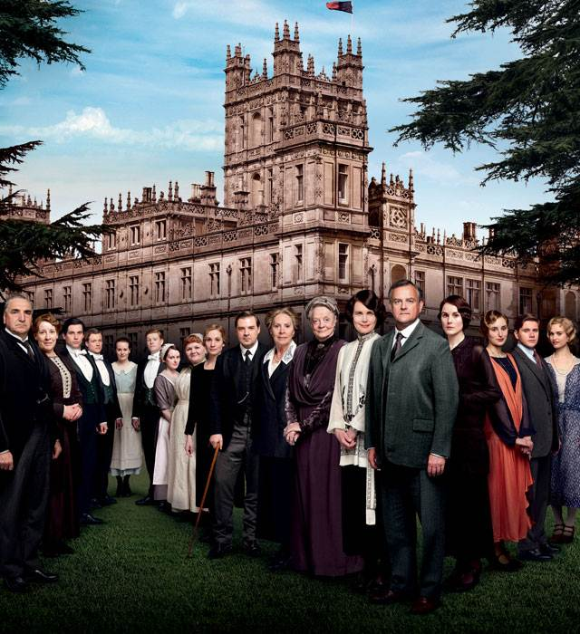 Downton Abbey Season 4 Wraps — See Pics from Final Days of Shooting!
