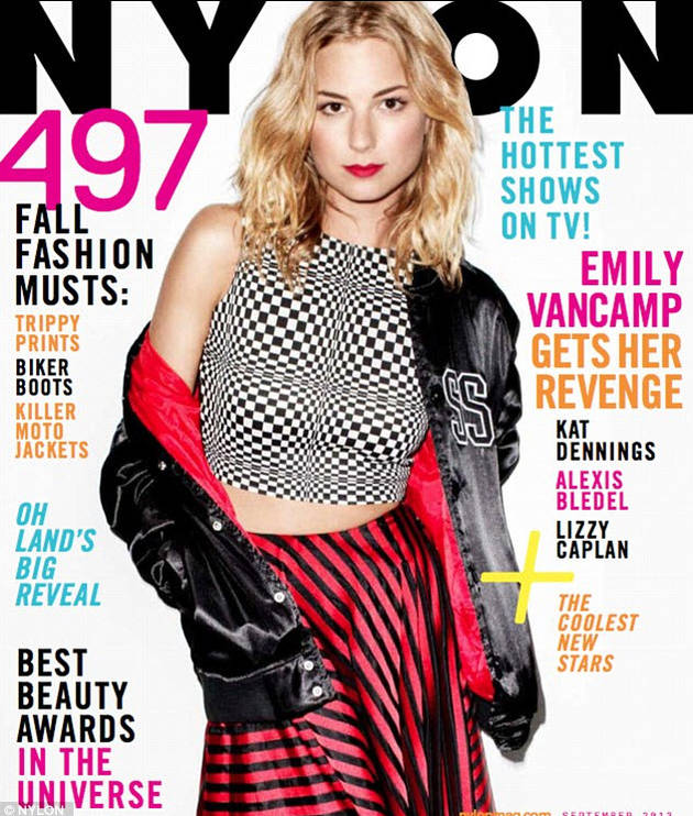 """Emily VanCamp Opens Up About Her """"Moments of Rebellion"""""""