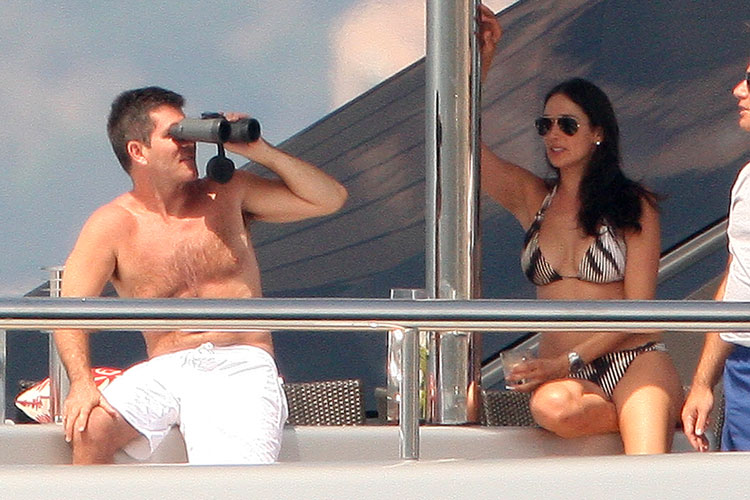 Simon Cowell and Pregnant Lauren Silverman's Affair Began 4 Years Ago — Report