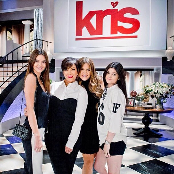 Kris Jenner's Talk Show Gets Highest Ratings Ever with North West Pic!