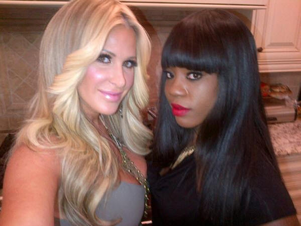 Kim Zolciak Is Filming With Sweetie Hughes!