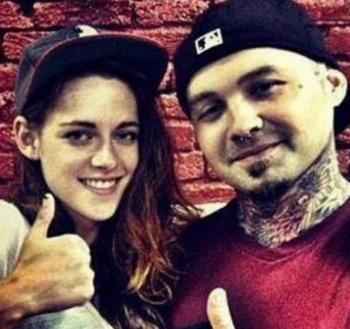 Kristen Stewart Shows Off New Tattoo in Germany!